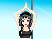 Menina do Yoga
