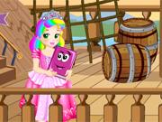 Princesa Juliet na Ilha do Tesouro