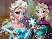Encontre os Flocos de Neve Mágicos da Elsa