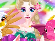 Cuide dos animais mágicos da Elsa