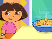 Dora Está Cozinhando