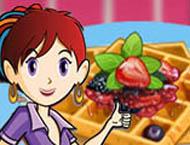 Sara Cozinha Waffles Francesas