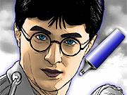 Colorindo o Harry Potter