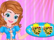 Princesinha Sofia Prepara uma Pizza Especial