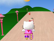 Patinar com Hello Kitty
