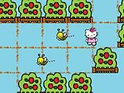 Hello Kitty foge das Abelhas