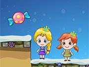 Elsa e Anna Procuram Doces