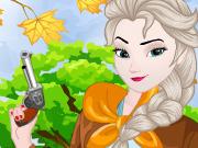 Elsa e Anna se Vestem de Cowgirls