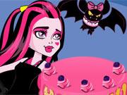 Decore o Bolo da Draculaura