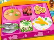 Decoração Caixa de Sushi
