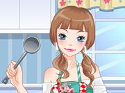 Vista a Cozinheira Bonita