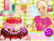 Faça Um Bolo de Aniversário com Barbie
