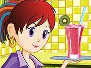 Sara Prepara Smoothie de Fruta