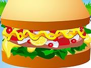 Montar Um Sanduiche Delicioso