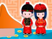 Prepare um Bolo de Casamento Chinês