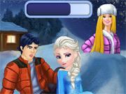 Beijo Escondido de Elsa e Ken