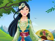 Princesa Mulan: Vestidos Tradicionais