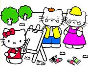 Colorir Hello Kitty