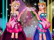 Elsa e Anna: Concerto de Rock