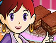 Sara Cozinha Brownie de Caramelo