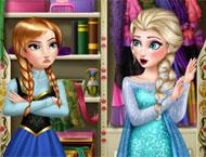 Anna e Elsa Rivais de Moda