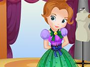 Vista Princesinha Sofia para seu Aniversário