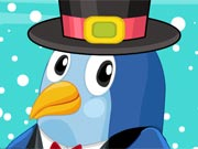 Vestir o Pinguim Bebé