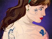 Menina Tatuada