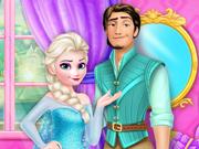 Transforme a Elsa na Rapunzel