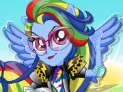 Rainbow Dash: Motoqueira Profissional