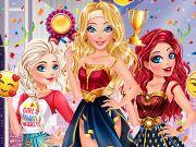 Elsa, Barbie e Ariel: Cosplay da Mulher Maravilha