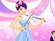 Tocando Violino no Casamento