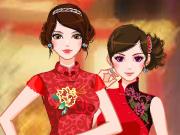 Vista as Duas Moças Asiáticas