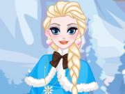 Vista a Elsa e o Olaf