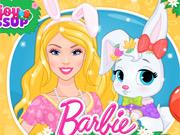 Barbie Salva Coelhinho da Páscoa