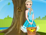 Elsa e Anna Fazem Piquenique