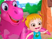 Baby Hazel no Parque de Dinossauros