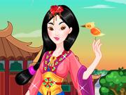 Vista a Princesa Mulan
