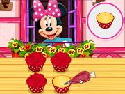 Cozinhe Cupcake com Minnie