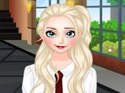 Elsa no Colégio