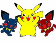 Colorindo a Turma do Pikachu