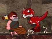 Ajudar o Homem das Cavernas com os Dinossauros