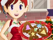 Sara Cozinha Biscoito de Vitral