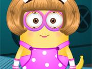 Vestir a Menina Minion