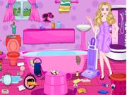 Barbie Bagunça no Banheiro