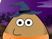 Pou e as Fantasias de Halloween