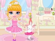 Bebê Barbie Bailarina