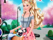 Vista a Barbie e Pinte a Bicicleta