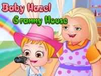 Hazel na Casa de Vovó