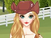 Transforme a Menina numa Cowgirl